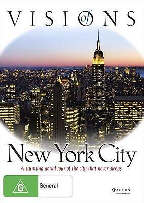 Visions Of New York City - DVD Region 4 Free Shipping!
