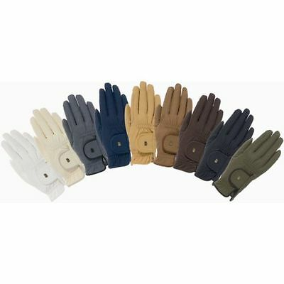 Roeckl grip chester quality horse riding gloves showing competition hacking