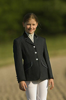 Ekkia girls equi theme competition horse riding jacket, showing, jumping, childs