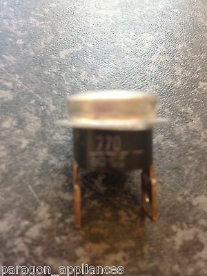 Indesit IDV65 Tumble Dryer Front Thermostat / Thermal Limiter.
