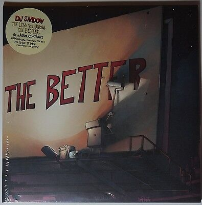 DJ Shadow - the less you know, the better, 2LP NEU/SEALED gatefold sleeve