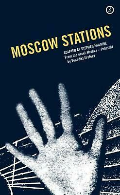 Moscow Stations by Stephen Mulrine (English) Paperback Book Free Shipping!