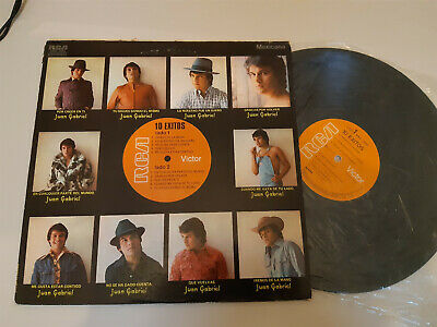 LP Ethno Juan Gabriel - 10 Exitos (10 Song) RCA VICTOR / MEXICO PRESS
