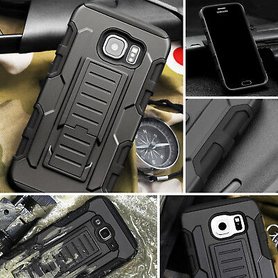 Protective Heavy Duty Hard Case For Samsung GALAXY Future Armor Cover in BLACK