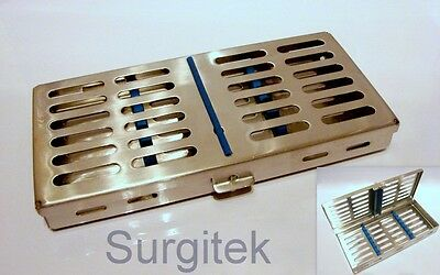 Sterilization Sterilizing Casette Cassette Rack for7 Dental Surgical Instruments