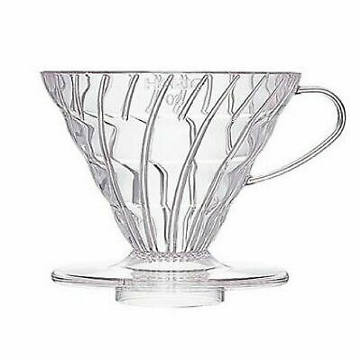 NEW HARIO V60 01 DRIPPER Plastic Coffee Cup Pour Over Cone Filter Brewer