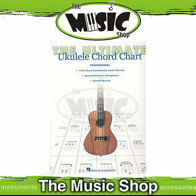 New The Ultimate Ukulele Chord Chart - Chord Book