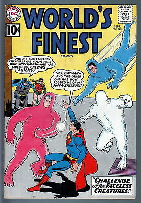 WORLD'S FINEST COMICS #120 Faceless Creatures 1961