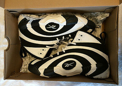 Reebok Shaqnosis Shoes OG Black/White Classic Junior Size 6 New in Box RARE