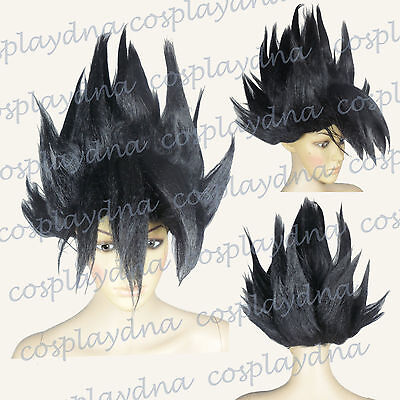 Son Goku Costume Black Halloween Wigs (fits both adult and children) A4