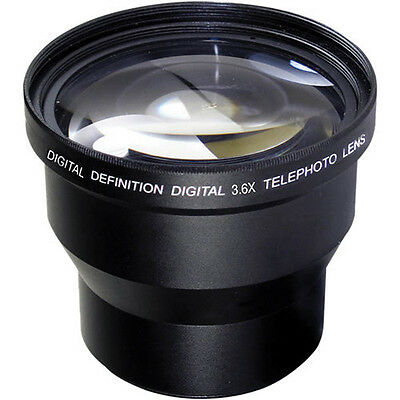 58MM 3.6X Telephoto Zoom Lens for Canon Rebel EOS T3 T4 T5 T5I 30D 20D XSI 6D 7