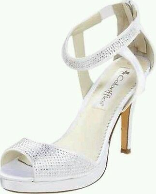 Coloriffics Camryn White Bridal Shoe