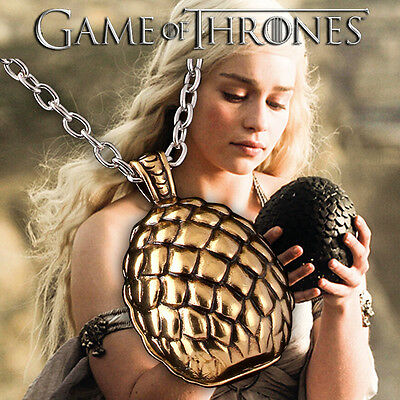 Game Of Thrones Inspired Dragon Egg Season 1 Necklace Pendant Jewelry Dany