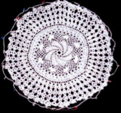 Jug Covers Beaded Approx. 4 Inch White 100% Cotton Handmade - Free P&p