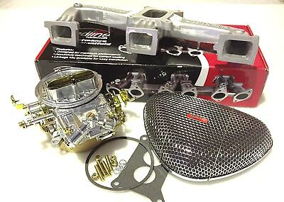 Holden Red 6Cyl Holley Carby 350 2Bbl + New Air Filter & Manifold Carb Package