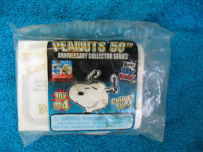 Wendy's Peanuts 50th Anniversary Collectors Series Key Chain