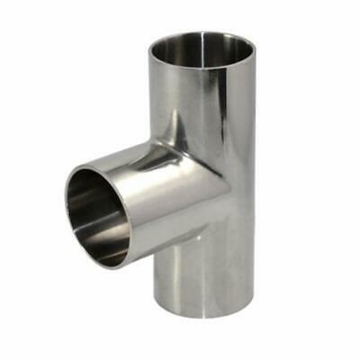"""3A standard Sanitary stainless steel Weld TEE, size:2""""/51mm ,SS304"""