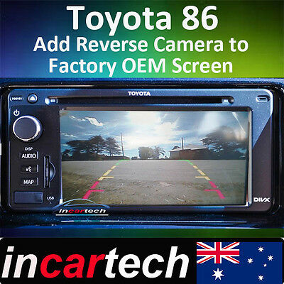 Toyota GT86 / GTS86 2012+ Reverse Camera Integration For OEM Navigation Screen