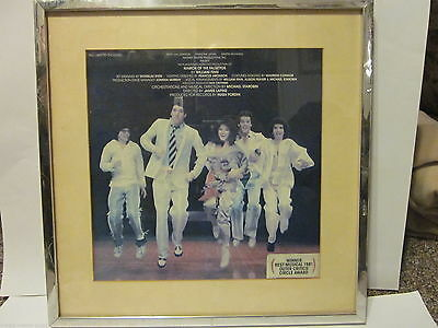 1981 Broadway Musical Album Cover Framed March Of The