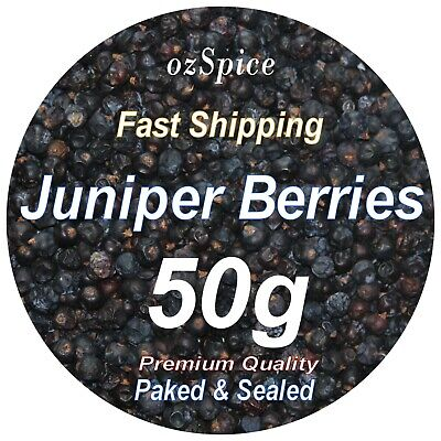 Juniper Berries 60g - Herbs Teas Chillies & Spices - ozSpice