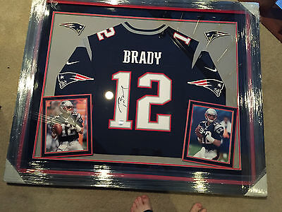 new style c4da2 60a9a TOM BRADY AUTOGRAPH Jersey Framed Fanatics and TRI STAR Authenticity  Guarantee