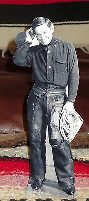 """Billy the Kid Western Figure Tabletop Display Standee From Actual Photo 10/"""" Tall"""