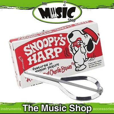 New Precision Tuned Snoopy's Jaw Harp - Deluxe Chrome Plated Steel - ED349