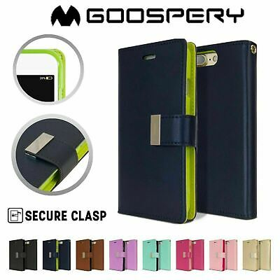 iPhone 7 7 Plus 6 6S Case Genuine Mercury Rich Diary Flip Leather Wallet Cover