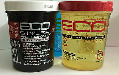 ECO STYLER ALCOHOL FREE STYLING HAIR GEL (32 oz) 946ml *****SPECIAL OFFER