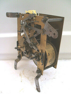 English Made Striking Wall Clock Movement Spare/Repair
