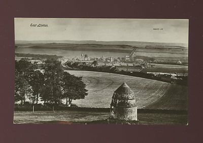 Scotland East Lothian EAST LINTON General view c1920/30s? RP PPC local pub Hally
