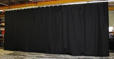 New Curtain/Stage Backdrop/Partition 9 H x 40 W, Non-FR, Custom Sizes Available
