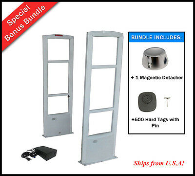 COMBO-C / 500 Tag + Super Detacher +  RF Checkpoint Compatible Security System