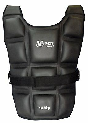 Weighted Jacket 12,14,16,18, 20 Kg Weight Vest Loss Gym Running fitness Viper