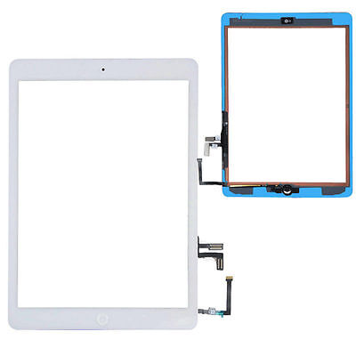 New White Outer Glass + Touch Screen Digitizer For iPad Air 5th Generation Gen