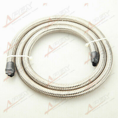 Stainless Steel braided AN10 AN-10 AN 10 -10 Fuel Line Gas Oil Hose 1M (3.3FT)
