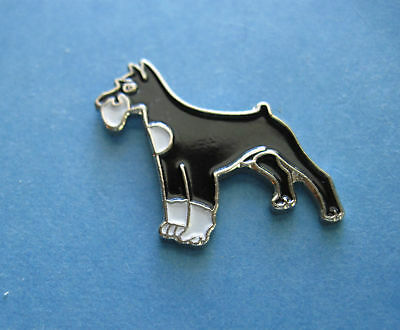 SCHNAUZER -   hat pin, lapel pin, tie tac , hatpin (s)  GIFT BOXED
