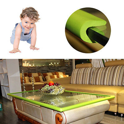 2M Kids Baby Safety Table Desk Edge Corner Soft Guard Strip Bumper Protector