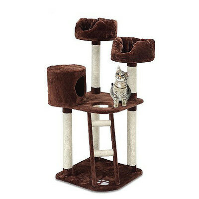 Designer Quality Kitten Meower Tower 52 inches entertainment center Cat Tree New