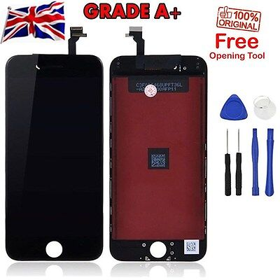 """New iPhone 6 4.7"""" Black LCD Display Replacement Screen Touch Digitizer Assembly"""