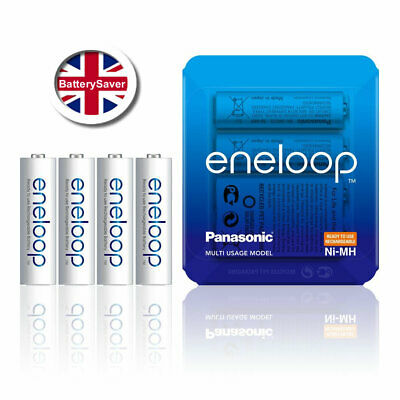 Panasonic eneloop AA 5th Generation (4 Pack) BK-3MCC NiMH Rechargeable Batteries