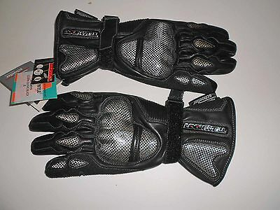 Schoeller Lookwell Cobra Design Leather Gloves - Small - New With Tags Kevlar