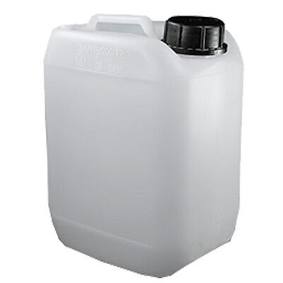 White Jerrican - 25 litre Capacity