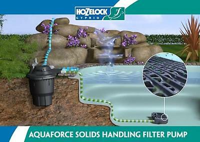 Hozelock BioForce Revolution Kit 9000 - Pressurised  Pond Filter Kit