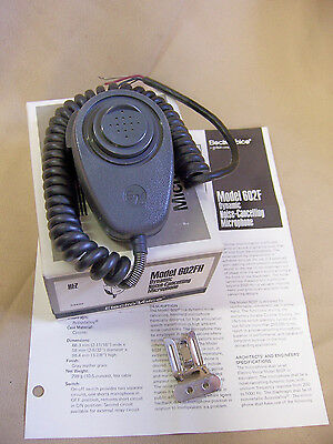 EV ELECTRO-VOICE 602FH PAGING HANDHELD MICROPHONE noise cancelling HIGH IMPEDANC