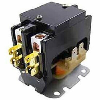 40 AMP 24 VAC Double 2-Pole Definite Purpose Contactor HVAC Packard NEW C240A