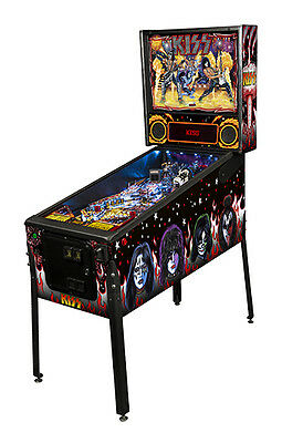 Stern KISS Premium Pinball Machine