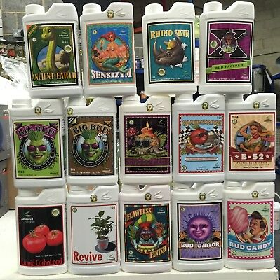 Advanced Nutrients-Big Bud, Overdrive, B52,voodoo,bud Candy And Many More 1L