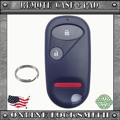 New Replacement Keyless Entry Remote Shell Case Fob For Honda Accord Civic Pilot