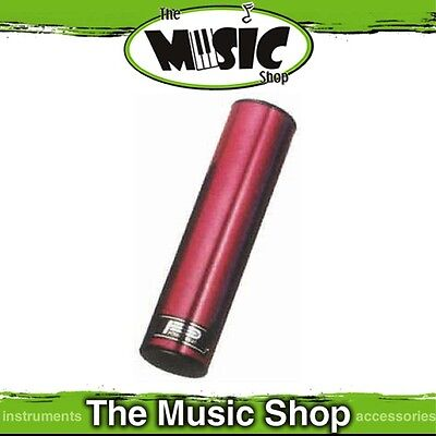 "New Powerbeat Satin Wine Red Finish Aluminium Shaker - 8"" Long - ED699WR"
